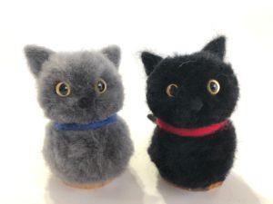 猫のヒゲ刺しポンポン